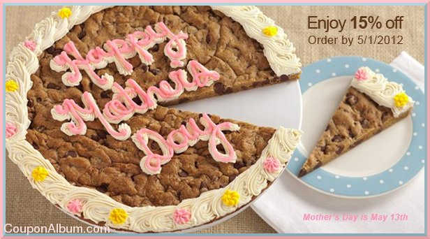 Mrs Fields Mother S Day Cookie Cake