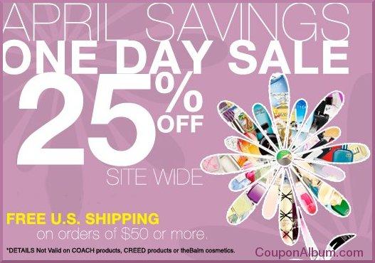 perfumania april savings