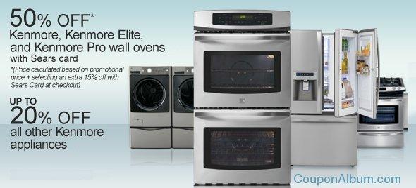 sears kenmore appliances
