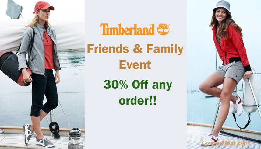 timberland friends-family event