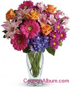 wondrous wishes by teleflora with roses