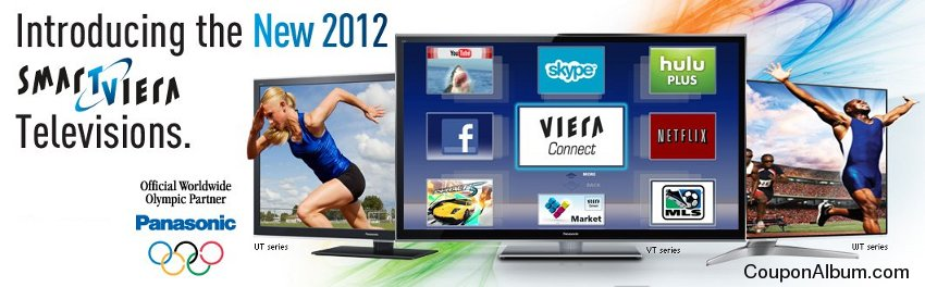 2012 Panasonic Smart VIERA TVs