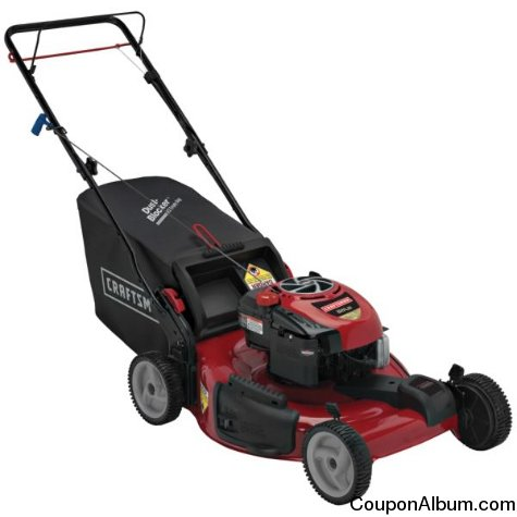 "Craftsman 22"" Rear Drive Self-Propelled EZ Lawn Mower"