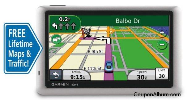 Garmin nuvi 1450LMT GPS Navigator