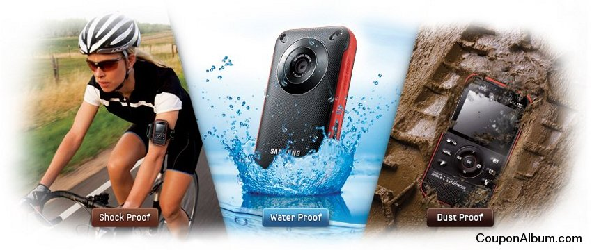 Samsung W300 Waterproof Pocket Camcorder