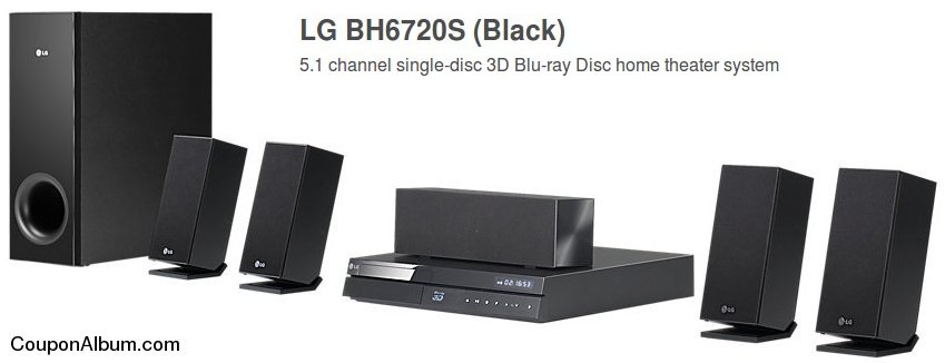 LG BH6720S 3D Blu-ray Home Theater System
