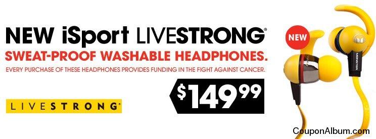Monster iSport LIVESTRONG In-Ear Headphones