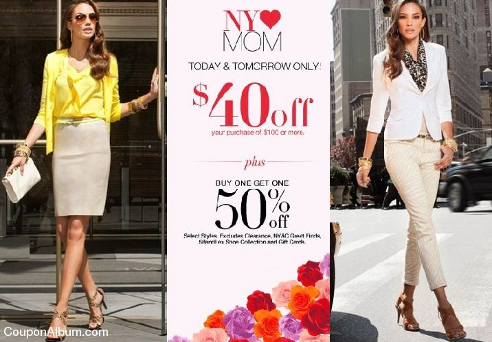 New York & Company Mother's Day Special