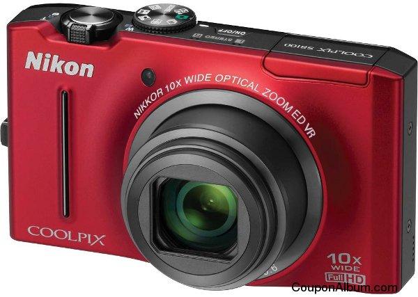 Nikon Coolpix S8100 Digital Camera