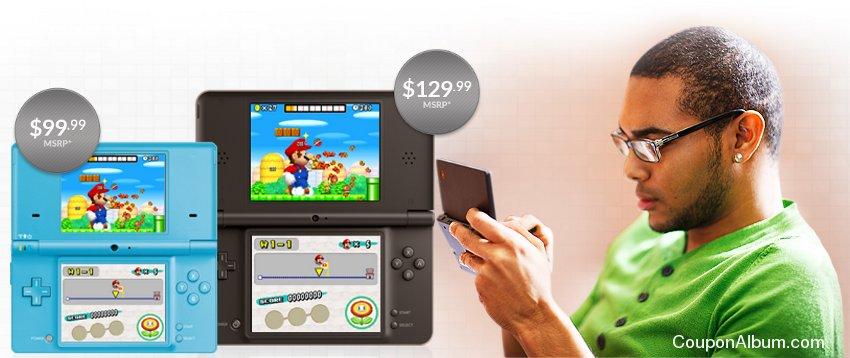 Nintendo handheld gaming system