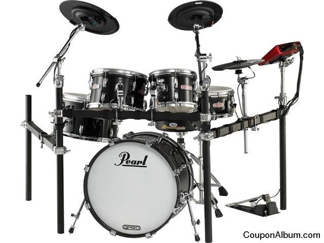 Pearl E-Pro Live Electronic Acoustic Drum Set