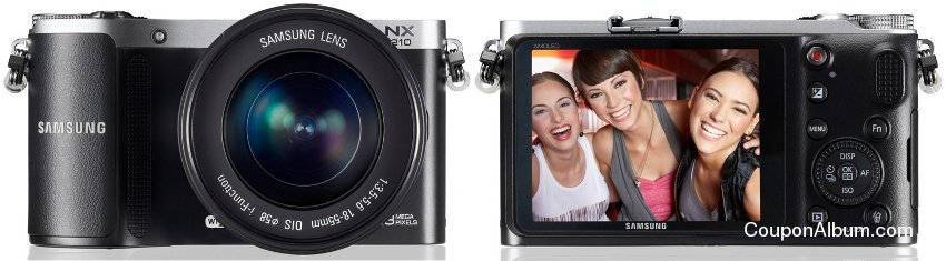 Samsung NX210 Digital Camera
