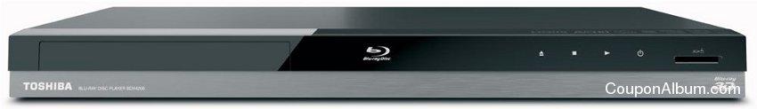 Toshiba BDX4200 Wi-Fi Ready 3D Blu-ray Player