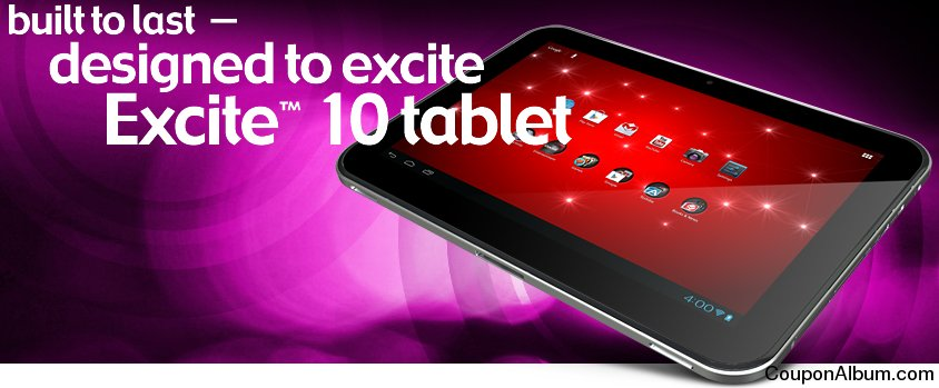 Toshiba Excite 10 tablet