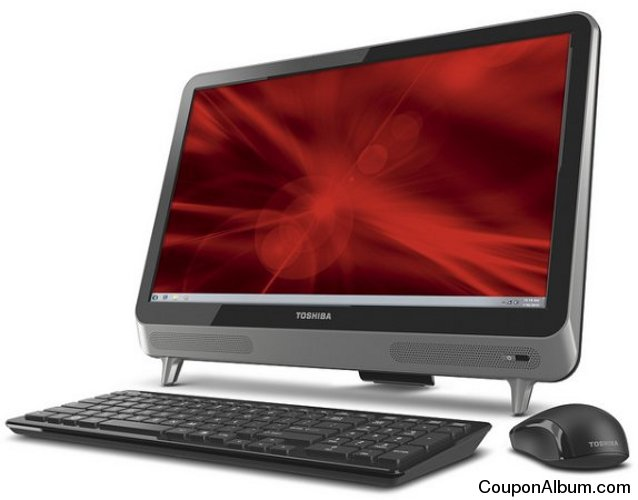 Toshiba LX835 All-in-One Desktop PC