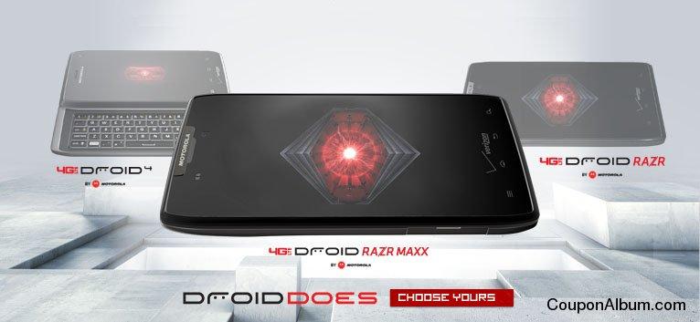 Verizon Wireless Droid Websale