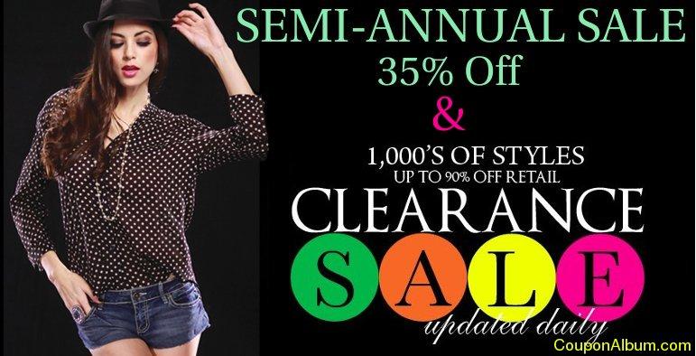 ami clubwear semi-annual sale