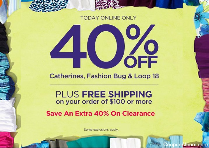 catherines one day sale