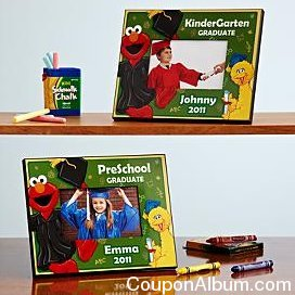 elmo preschool-kindergarten graduation frame