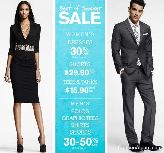 express best of summer sale