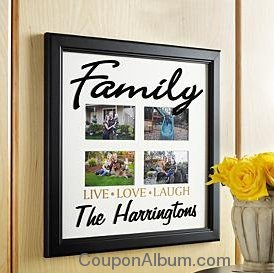 family live-love-laugh frame