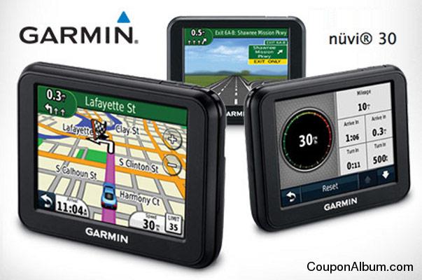 Garmin Nuvi 30 GPS Navigator