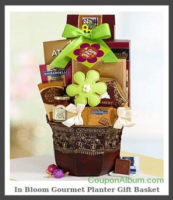 gourmet planter gift basket