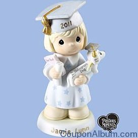 precious moments graduation figurine