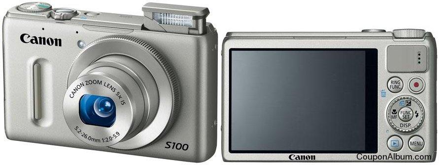 Canon PowerShot S100 Digital Camera