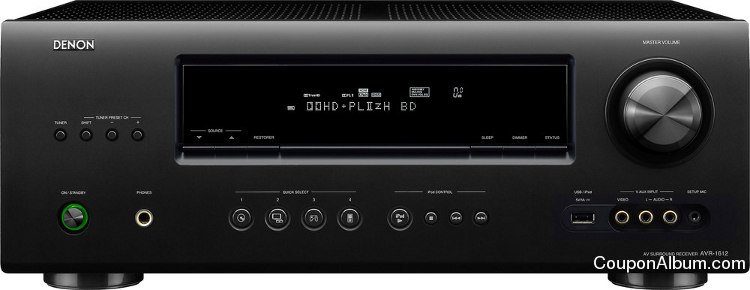 Denon AVR-1612 5.1 Home Theater Receiver