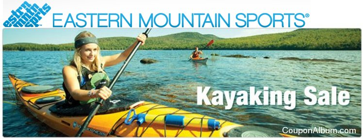 Eastern Mountain Sports Kayaking Sale