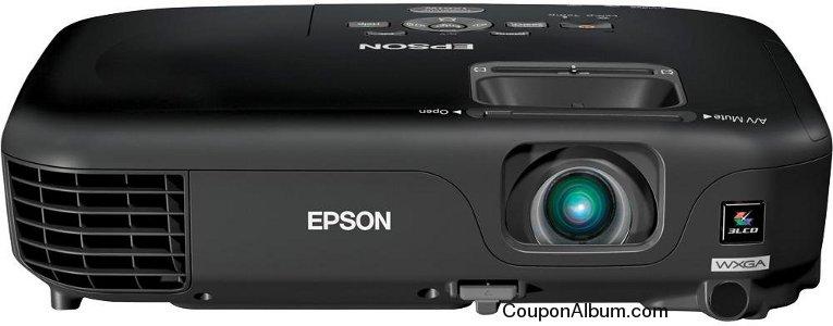 Epson PowerLite 1261W LCD Projector