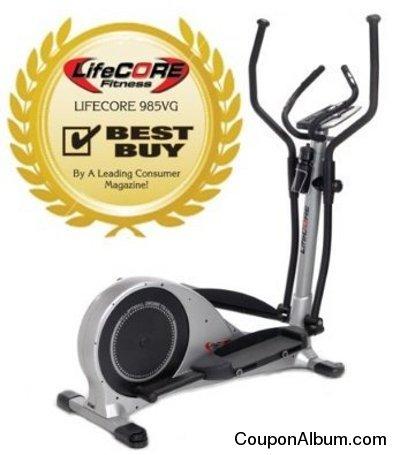 LifeCORE LC985VG elliptical