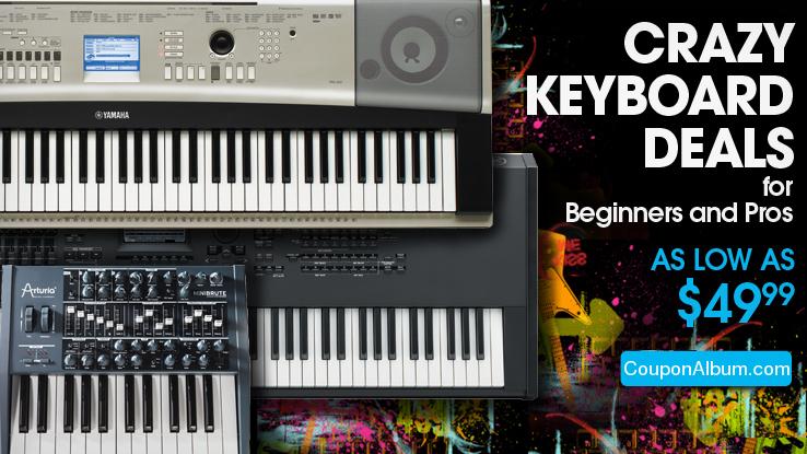 Musician's Friend Crazy Keyboard Deals