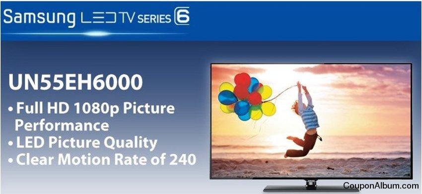Samsung UN55EH6000 LED HDTV