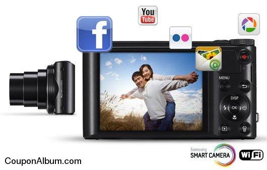 Samsung WB150F SMART Digital Camera