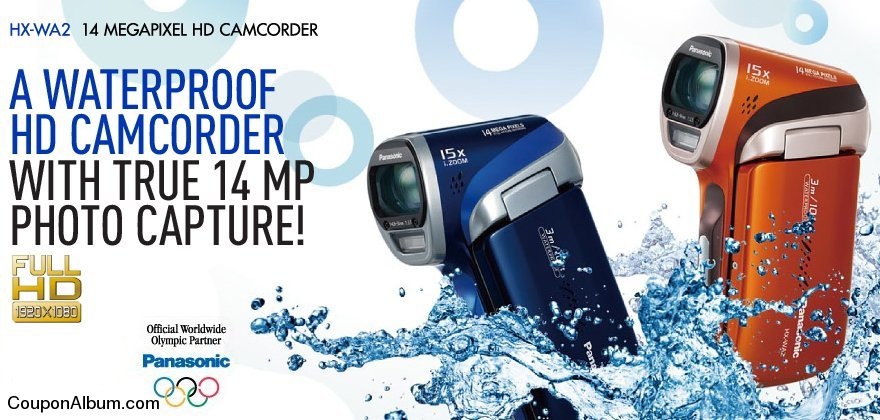 Panasonic HX-WA2 HD Camcorder
