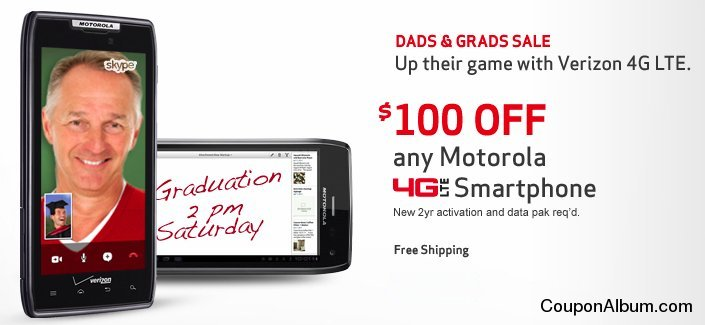 Verizon Wireless Dad & Grads Sale