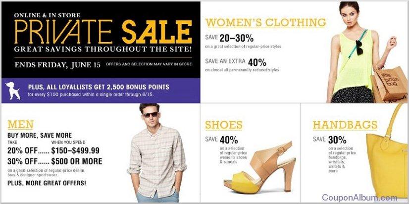 bloomingdales private sale