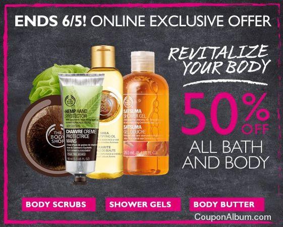 body shop online offer