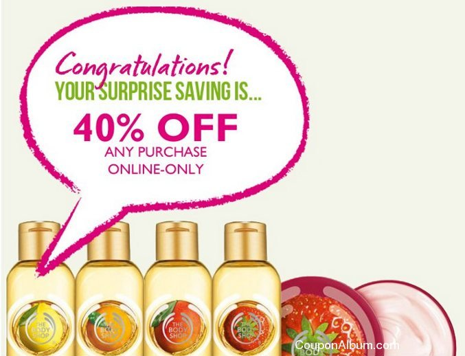 body shop surprising savings