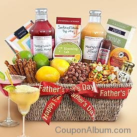 deluxe cocktail gift basket
