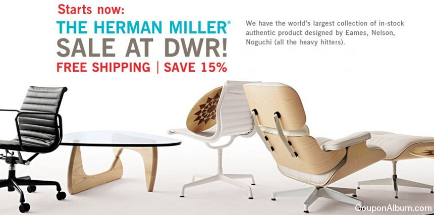 dwr herman miller sale