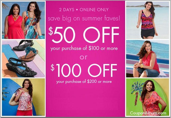 fashion bug summer savings