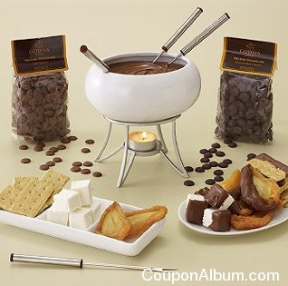 godiva chocolate fondue kit