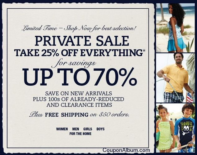 lands end private sale