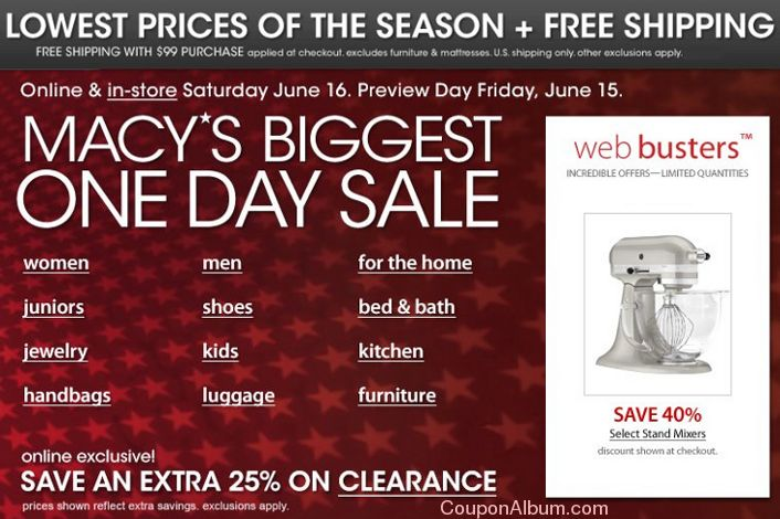 Macy's Coupons | Online Shopping Blog