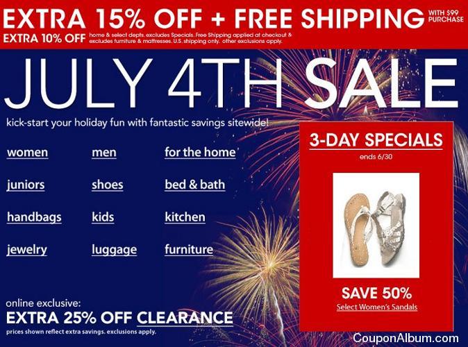 macys july 4th sale