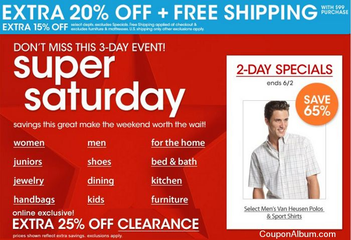 macys super saturday event