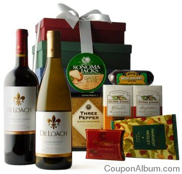 sonoma tower food-wine gift
